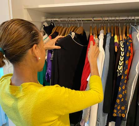 wardrobe organiser