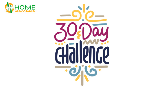 30-DAY HOME ORGANIZING CHALLENGE